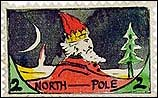 Francobollo di Babbo Natale disegnato da Tolkien