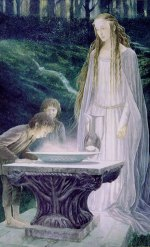 'The Mirror of Galadriel', ©1991 by Alan Lee